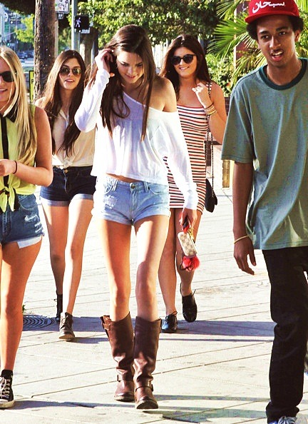 Kendall & Kylie out with friends Anastasia & Julia in Hollywood, CA.-Jun.16