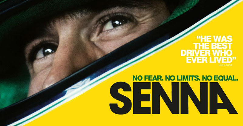 Paolo, I just watched Senna, the most amazing film about Formula One racer Ayrton Senna. It's a posthumous documentary, composed of only archival footage. Amazingly, however, it comes across much more like a live action drama. You of all people need to see this film. Set aside some time to watch it as soon as you can — it's on Netflix.