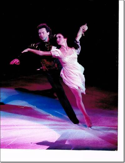 #62. Klimova and Ponomarenko - Romeo & Juliet The artistic program from the World Professional Figure Skating Championships 1995, with a gorgeous straight lift and a breathtaking finale: the way she moves in the last part is amazing. You can find it here.