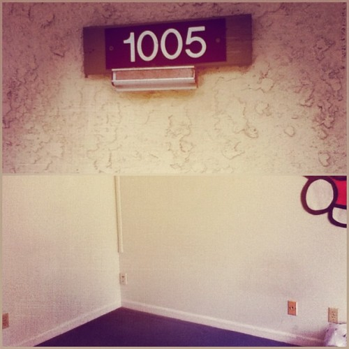 Farewell to Campus Billage Apartment 1005. You were good to me while I was there. I will always rep the CV. #moveout (Taken with Instagram)