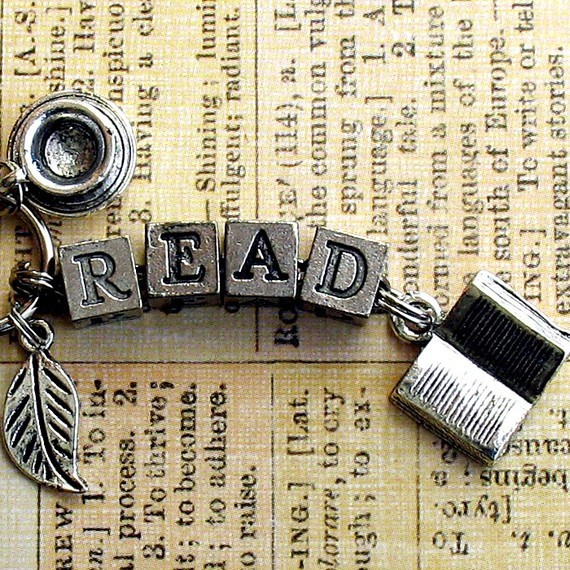 Book Lovers Key Ring