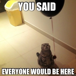 sad birthday cat [via]