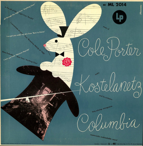 marcedith:  …..1950, Columbia Records via Flickr  arts enthusiast…..