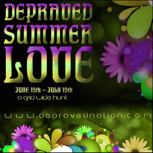 http://depravednation.com/depraved-summer-love Has started :3 Yet another hunt I'll fail at showing prizes.