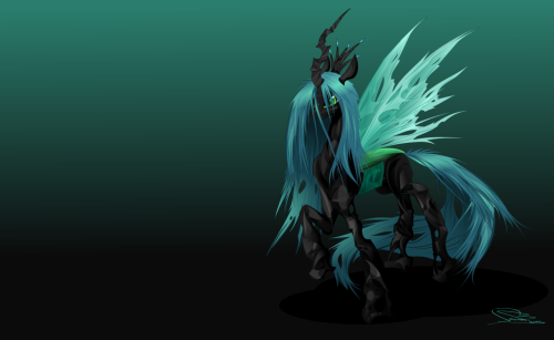 royalcanterlotvoice:  This day… Chrysalis by ~bonebreaker99