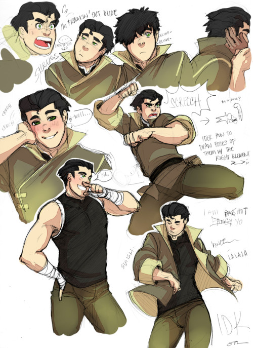 fwips:  hinokit:  More Bolin and with colours!  HHhhhHHUGHH  Swing dem hips you stud!