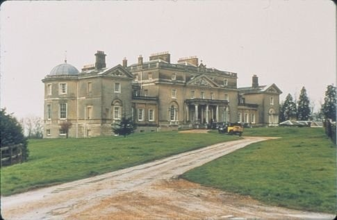 Vintage pic of Wrotham Park, Hertforshire. The house was used for exterior filming for the film Gosford Park.