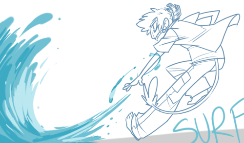 SOMETHING DYNAMIC Surf actually looks a little different in my head but w/e i just rolled with it