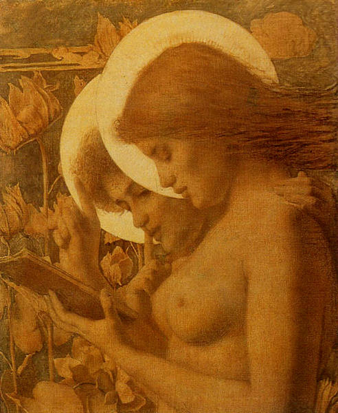 The Haloes, 1894 Louis Welden Hawkins