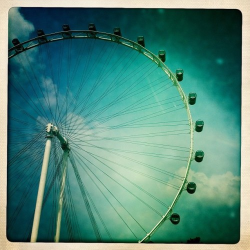 Singapore Flyer. (Taken with Instagram at The Singapore Flyer)