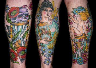 Done by Olaf Lobe/ True Love Tattooing / Duesseldorf, Germany - Gotta love his style!