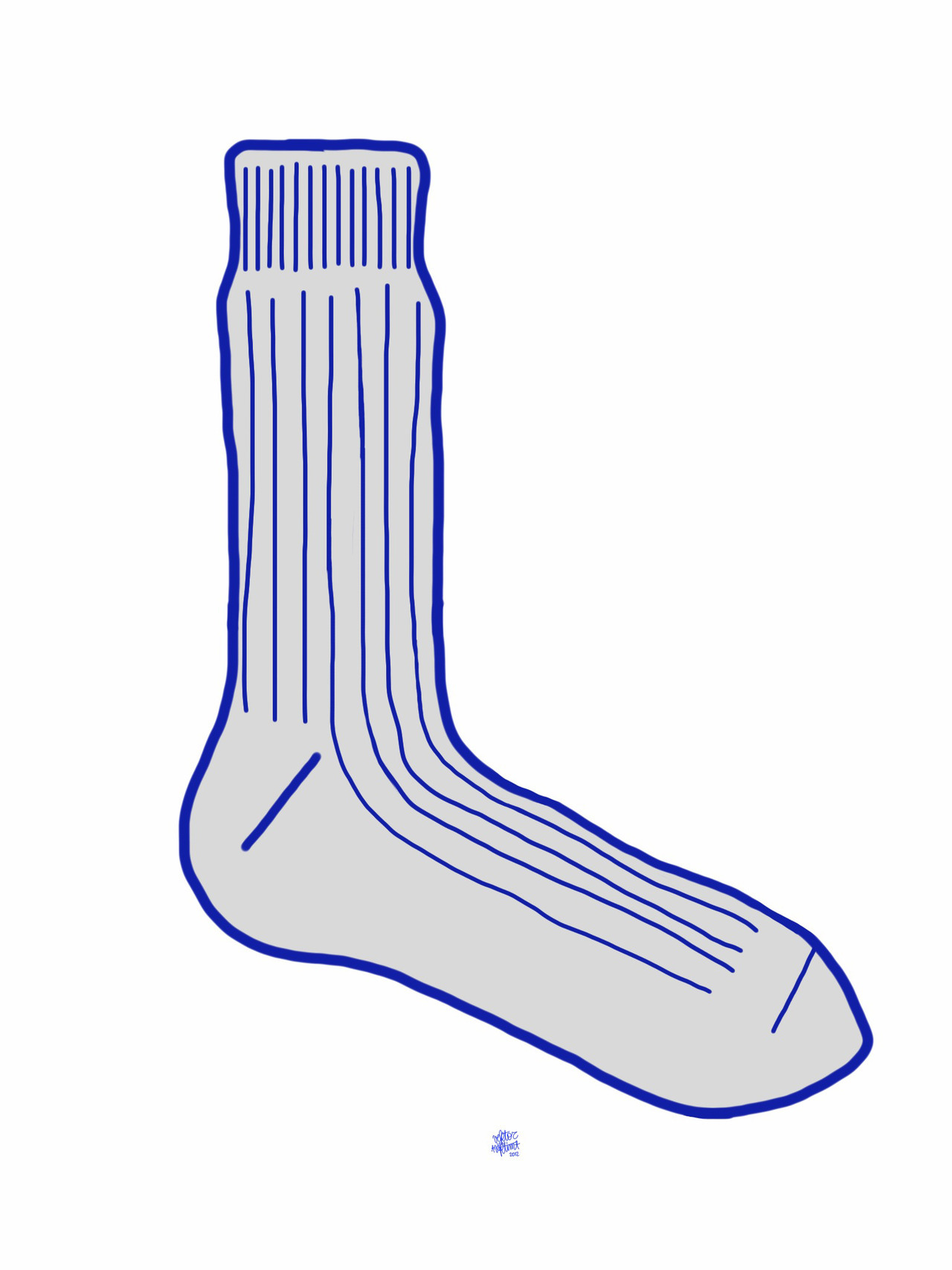 Lichtenstein sock.