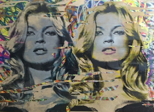 artnet:  Mr Brainwash: Kate Moss Street artist Mr Brainwash's portrait of notorious supermodel Kate Moss is both an homage to Pop Art culture and a commentary on contemporary society's continued cult fanaticism with celebrities.  Click through to find it in our exclusive Graffiti & Street Art auction.