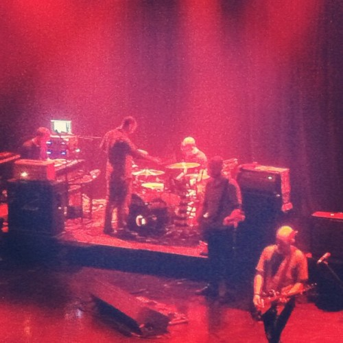 Extra mallet action during Auto-Rock 👌 (Taken with Instagram at House of Blues)