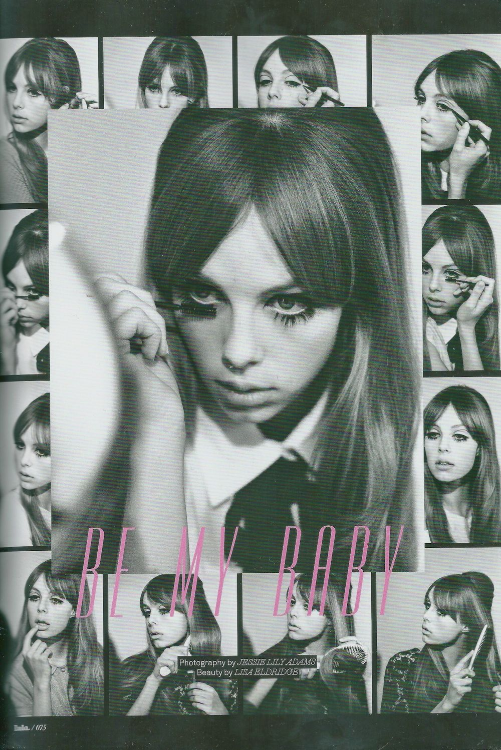 gasstation:  Edie Campbell: Be My Baby - Lula #14 by Jessie Lily Adams, Spring/Summer 2012