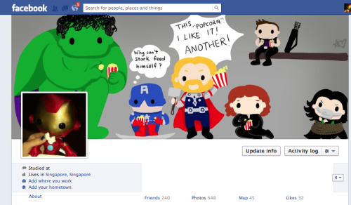 OH no! The Avengers have invaded my timeline! XP