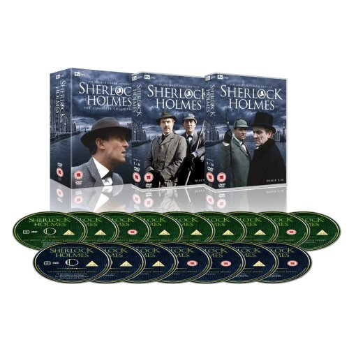 Sherlock Holmes - Complete Collection (Granada series with Jeremy Brett, David Burke, Edward Hardwicke) currently only £25 on Amazon UK.