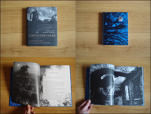 prettybooks:  A Monster Calls by Patrick Ness won both the Carnegie and Greenaway prize this week.