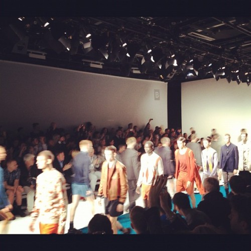 Finale to a fantastic show from @PringleScotlanf #londoncollections  (Taken with Instagram)