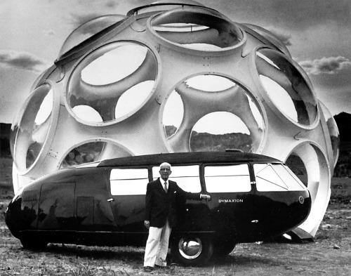 lostfoundation:  Buckminster Fuller and the Dymaxion