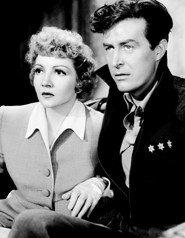lucynic83:  Claudette Colbert and Ray Milland in a still from Arise My Love, 1940