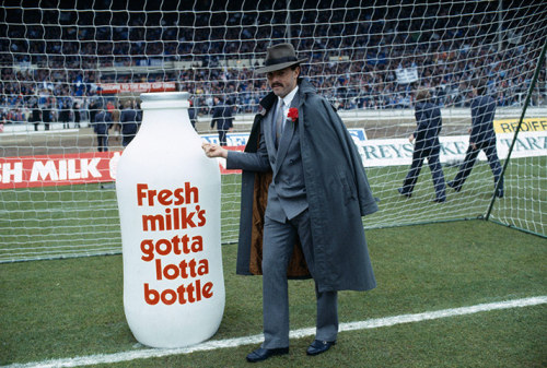 Bruce Grobbelaar encourages you to drink milk… or he'll send the boys round, capiche?