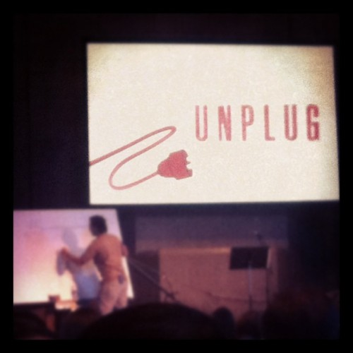 Unplug.  (Taken with Instagram at Genesis: the Church)