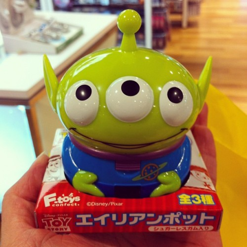 #Alien #Toystory #box 💚 thx @bbooonn  (Taken with Instagram at Siam Discovery (สยามดิสคัฟเวอรี่))
