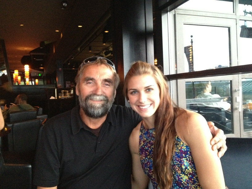 livejustlikeagypsy09:  @alexmorgan13: Happy Fathers day to all the dads out there!! So grateful I get to spend today with my dad in Sweden. #fb http://t.co/pIyPWq3Y