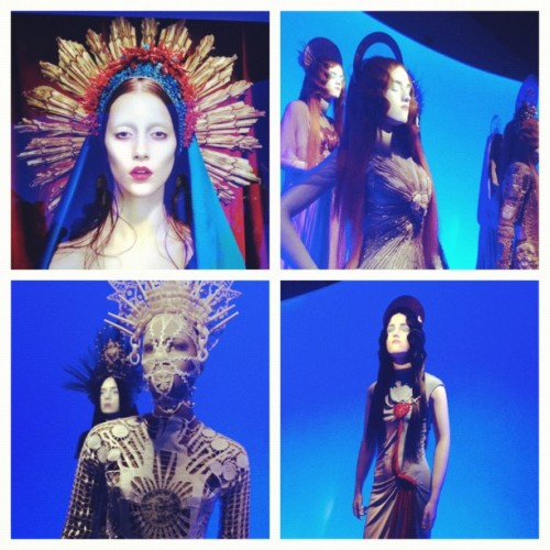 from the Gaultier exhibit @ De Young Museum #SanFrancisco (Taken with Instagram)