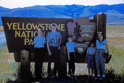 Yellowstone, 1960. Great shirts!