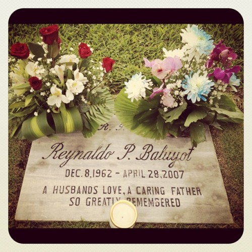 Happy Fathers' Day, Papa! I love and miss you very much :( (Taken with Instagram)