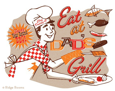 "HAPPY FATHER'S DAY!!!! (""Dad's Grill"")"