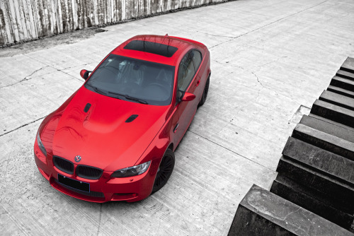 carmonday:  out of hell chrome red M3