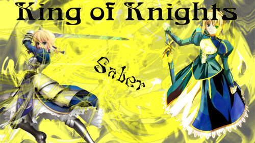 1920 X 1080 made on paint shop pro Saber the king of kights