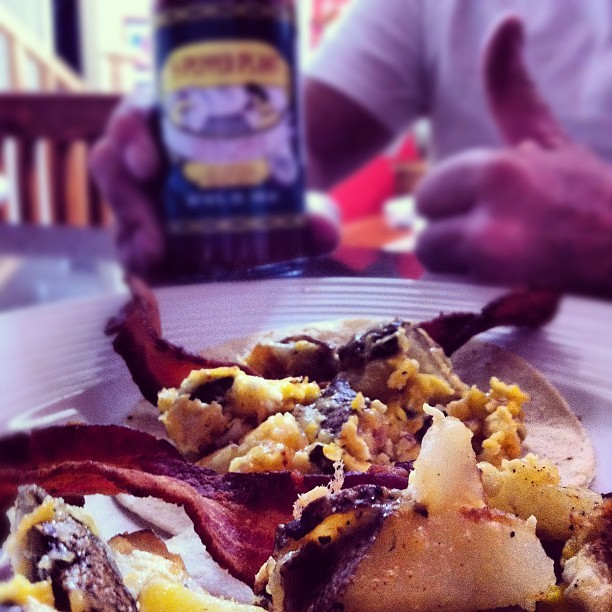 Pepper plant makes everything better, especially breakfast (Taken with Instagram at Our humble abode )