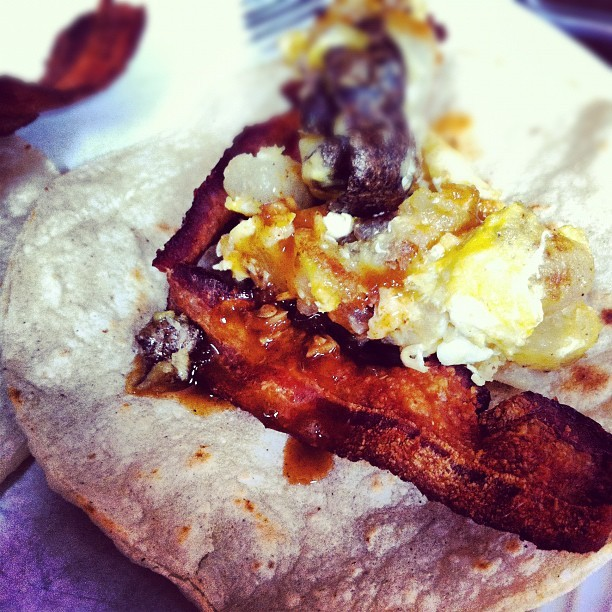 Oh yes. Fathers day breakfast :) happy day daddy-o (Taken with Instagram at Our humble abode )