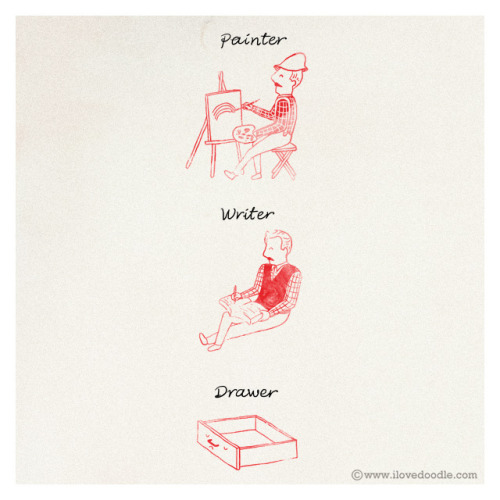 laughingsquid:  Painter Writer Drawer