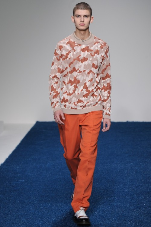 Pringle of Scotland Men's RTW Spring 2013
