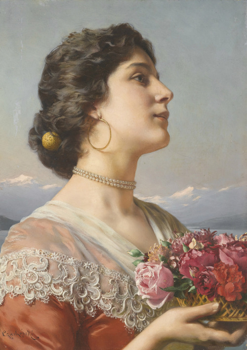 23silence:  Ladislas Wladislaw von Czachorski (1850-1911) - The bouquet