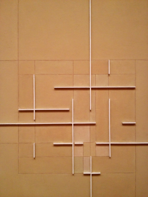 (hanging out at the MoMA) ALUISIO CARVAO CONSTRUCTION 6, 1955