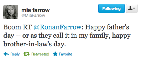Michelle met Ronan Farrow recently and I made her give me every detail. julieklausner:  This flawless woman and her fabulous son.