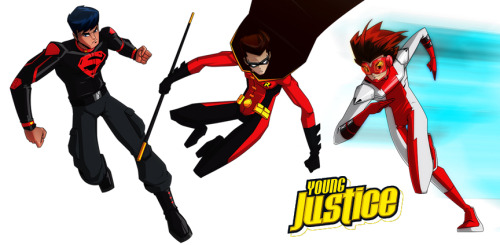 OG Young Justice by *KWESTONE