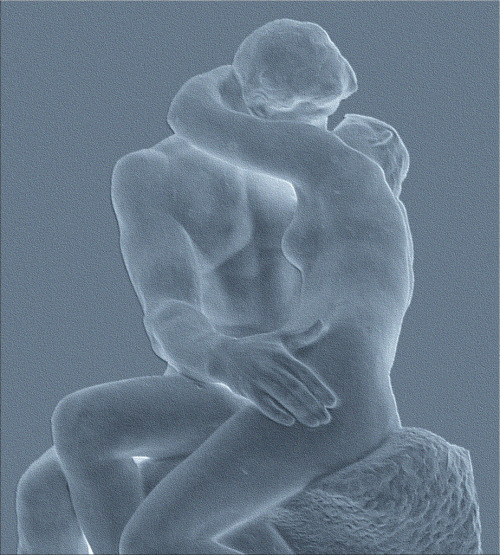 23silence:   Auguste Rodin - The Kiss (detail), 1886