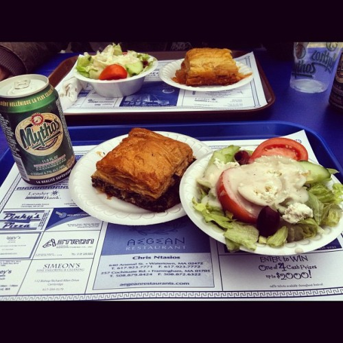 Get Greek @ Greek Fest in Central Square (Taken with Instagram at Cambridge, MA)