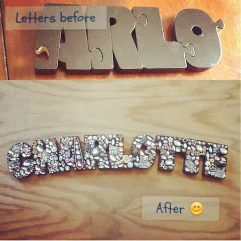 #DIY ! My name I made for my wall :) so easy to do! (Taken with Pose)