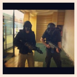 Mid game. #cod #airsoft #g36c  (Taken with Instagram)
