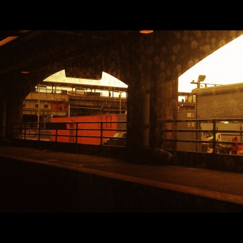 East New York #cityscape #train  (Taken with Instagram)