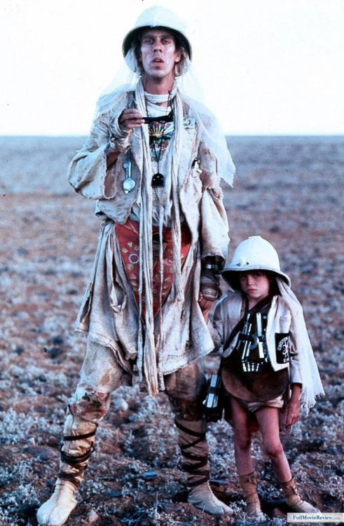 "Mad Max Beyond Thunderdome (1985) Jedediah the Pilot (Bruce Spence) and Jedediah Jr.   Bruce Spence (who is 6'7"" tall) was great in Legend of the Seeker.  He has played in the third installments of five big film franchises - Mad Max Beyond Thunderdome, The Matrix Revolutions, The Lord of the Rings: The Return of the King, Star Wars: Episode III - Revenge of the Sith and The Chronicles of Narnia: The Voyage of the Dawn Treader."