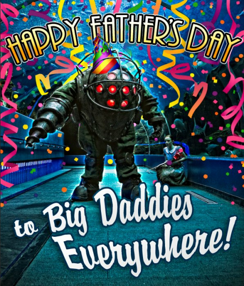 insanelygaming:  Happy Father's Day Big Daddies via
